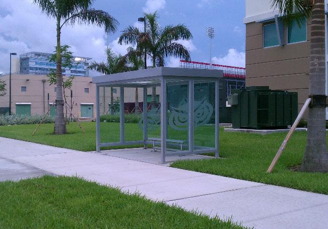 smoke shelter