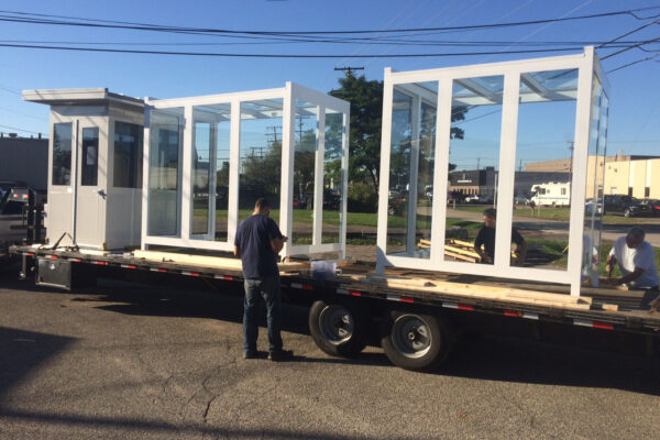how to install aluminum shelters