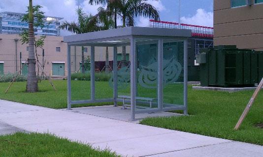 Transit Shelter Vista Style A
